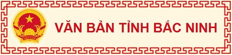 Văn bản tỉnh Bắc Ninh